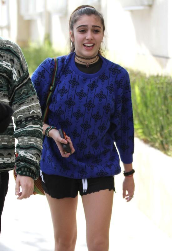 Madonna wygląda młodo jak jej córka (FOTO)