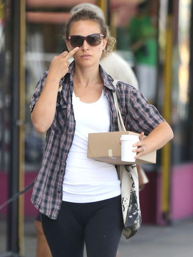 Natalie Portman pokazuje środkowy palec (FOTO)