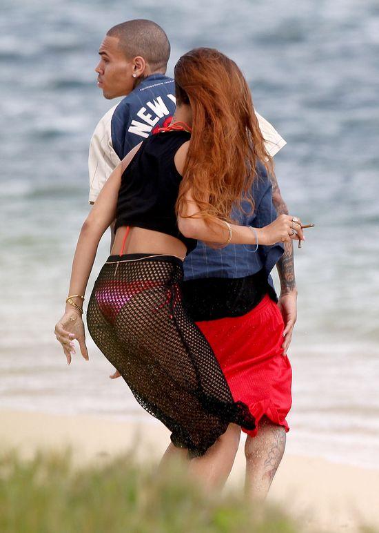 25. urodziny Rihanny z Chrisem Brownem (FOTO)