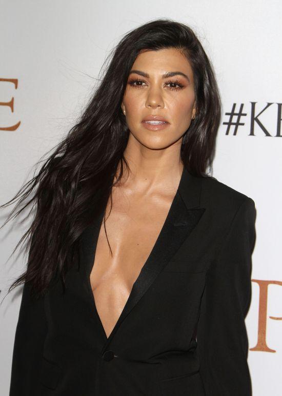 Kourtney Kardashian udostępniła bardzo OSTRY film (VIDEO)
