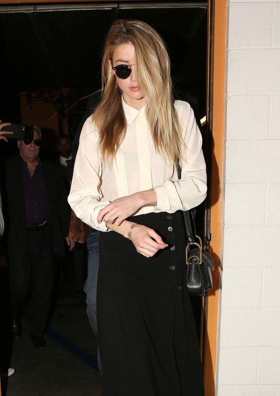 Kolejne spięcie na linii Amber Heard - Johnny Depp (FOTO)