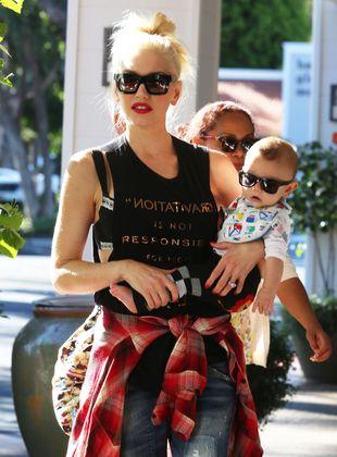 Gwen Stefani zadbała o modną stylówkę syna (FOTO)