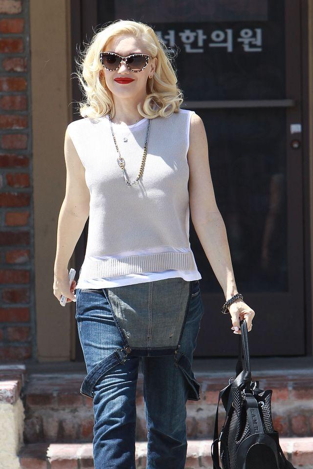 Najmłodszy syn Gwen Stefani już może pozować do zdjęć (FOTO)