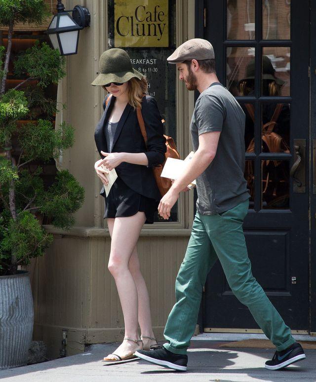 Emma Stone i Andrew Garfield wykorzystują popularność (FOTO)
