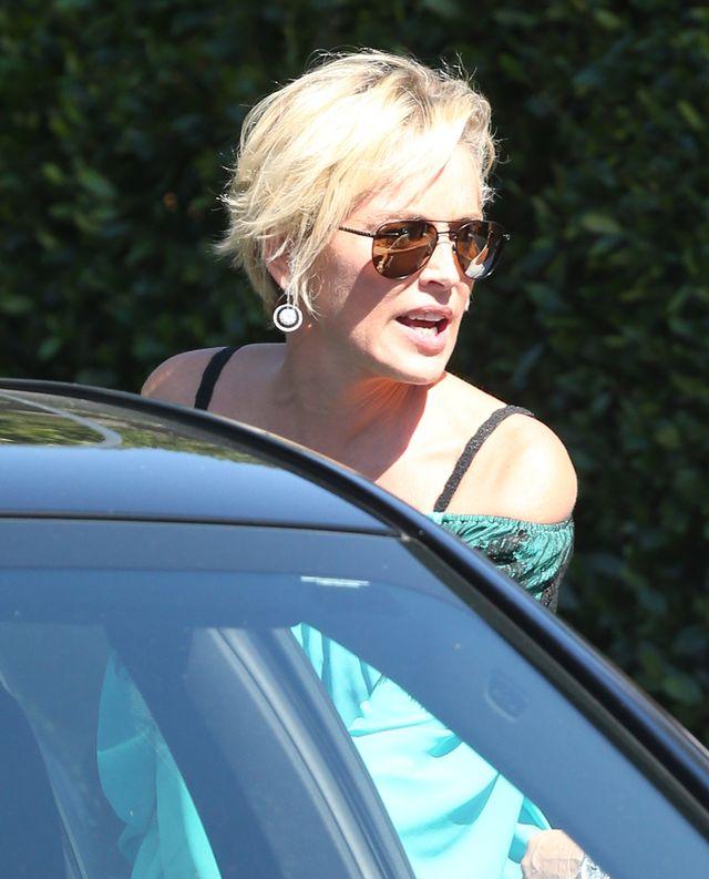 Sharon Stone: Zamknęłam się z butelką wina w łazience
