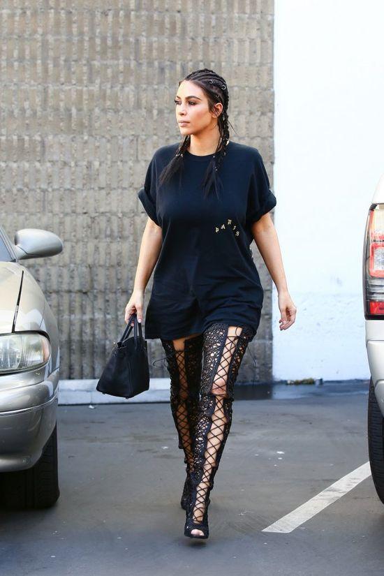Kim Kardashian tańczy, jak gwiazda porno! Ciekawe, co na to Kanye West?