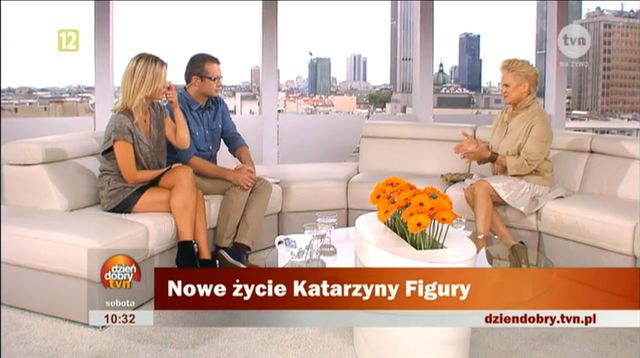 Katarzyna Figura: Jest to pocz�tek mojego nowego �ycia