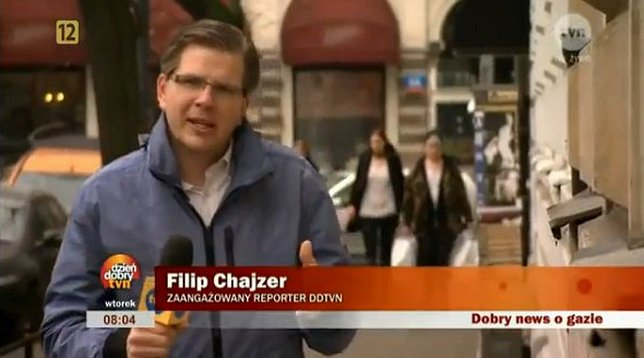 Filip Chajzer o dziennikarstwie: Będziesz zarabiać 300zł!