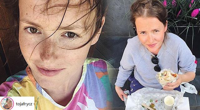 Olga Frycz pokazała duży CIĄŻOWY brzuszek (Instagram)