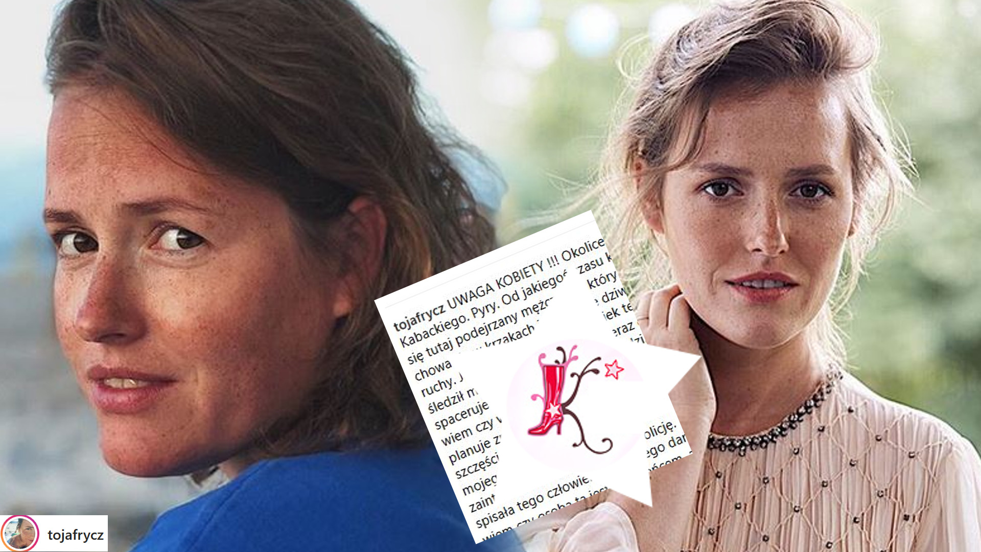 Olga Frycz jest śledzona przez zboczeńca! Opublikowała SZOKUJĄCY post