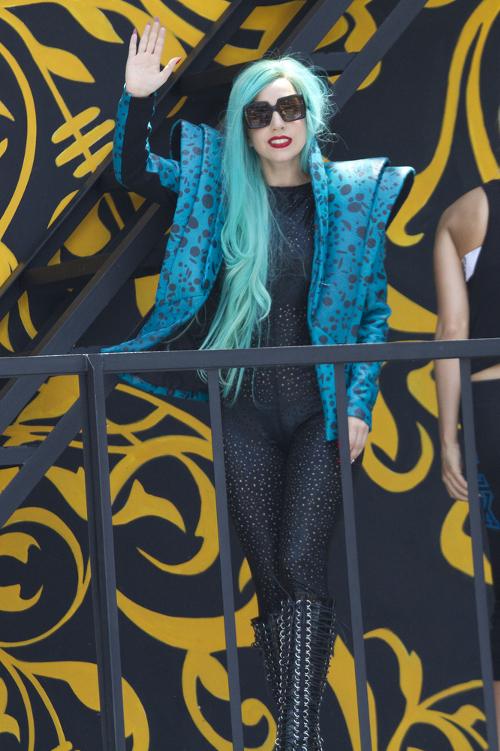 Lady GaGa chce mieć w garderobie manekina z włosami łonowymi