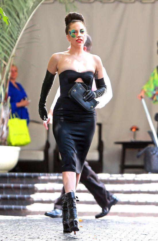 Wymalowana Lady Gaga (FOTO)