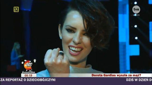 Dorota Gardias skomentowała plotki o ślubie