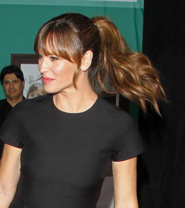 WPADKA Jennifer Garner: pokazała spanxy na czerwonym dywanie