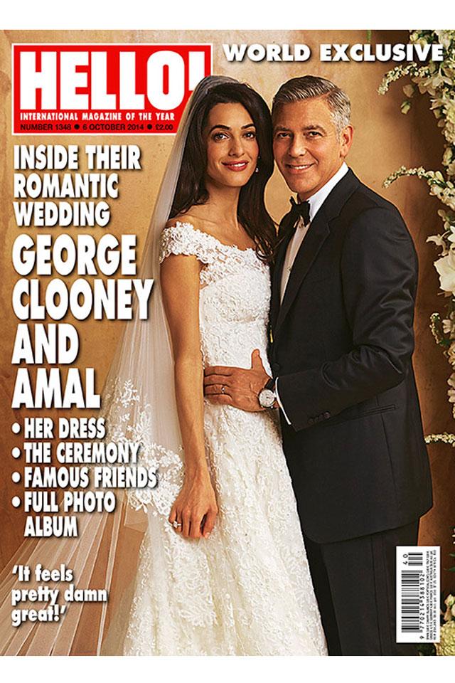 Są pierwsze zdjęcia sukni ślubnej Amal Alamuddin!