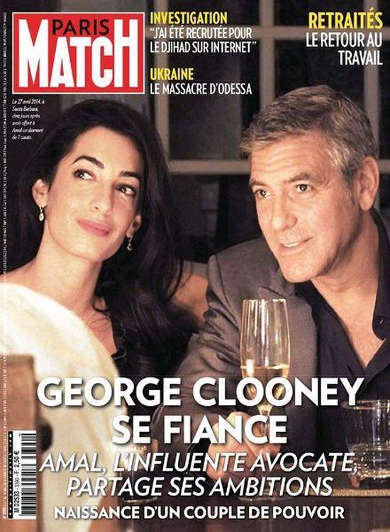 U narzeczonej Clooneya widać już ciążowy brzuszek