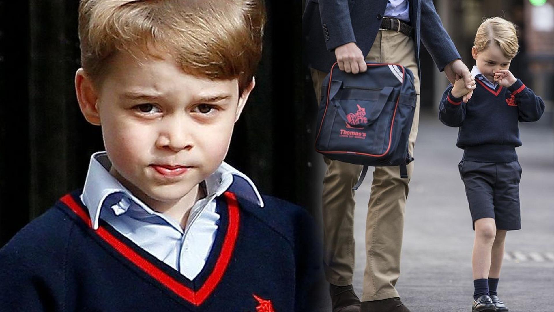 Powód, dla którego nie zobaczymy zdjęć z PIERWSZEGO dnia szkoły księcia George'a