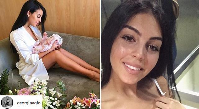 Georgina Rodriguez już pokazała brzuch po porodzie! (Instagram)