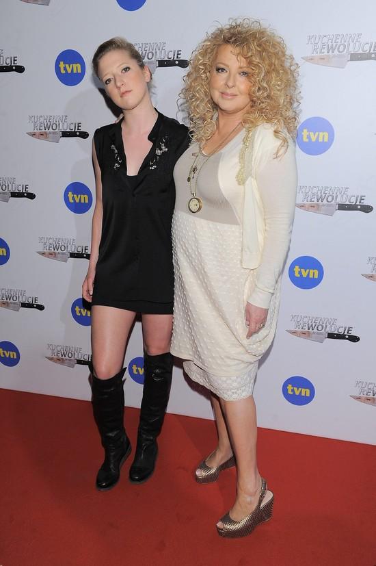 Magda Gessler z córką schudną dzięki Lewandowskiej? (FOTO)
