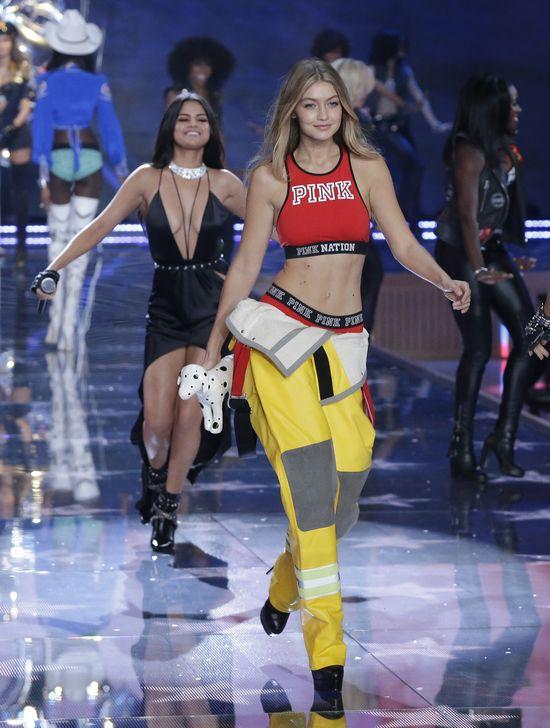 Gigi Hadid zadebiutowa�a na pokazie VS (FOTO)