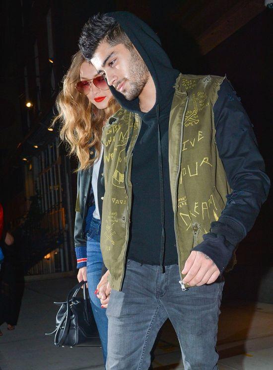 Gigi Hadid zosta�a zapytana o rozstanie z Zaynem Malikiem. Co odpowiedzia�a?