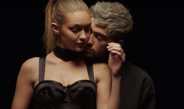Gigi Hadid wyst�pi�a w nowym klipie Zayna Malika! (VIDEO)