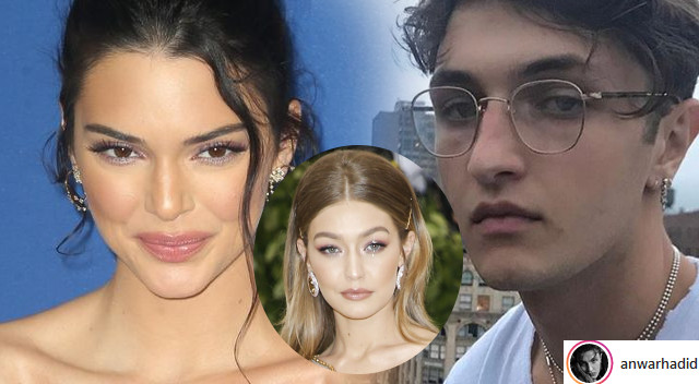 Gigi Hadid OSTRZEGA brata Anwara Przed Kendall Jenner