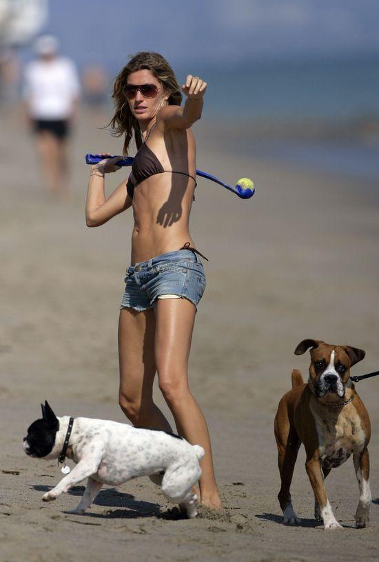 Jennifer Aniston chce wyglądać jak Gisele Bundchen