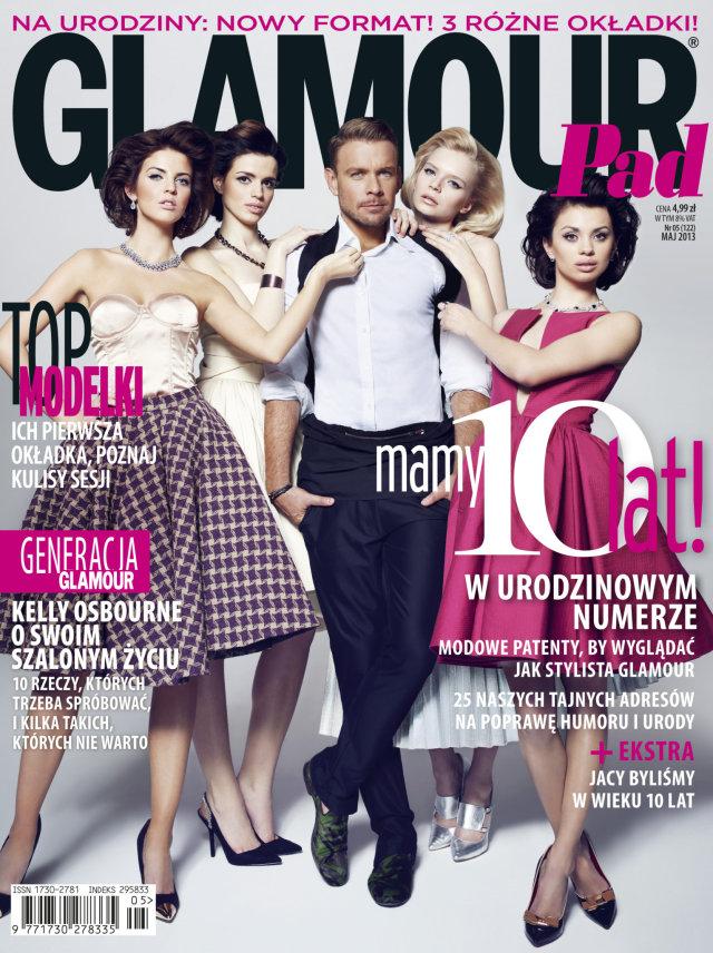 Dziewczyny z Top Model na trzech okładkach Glamour (FOTO)