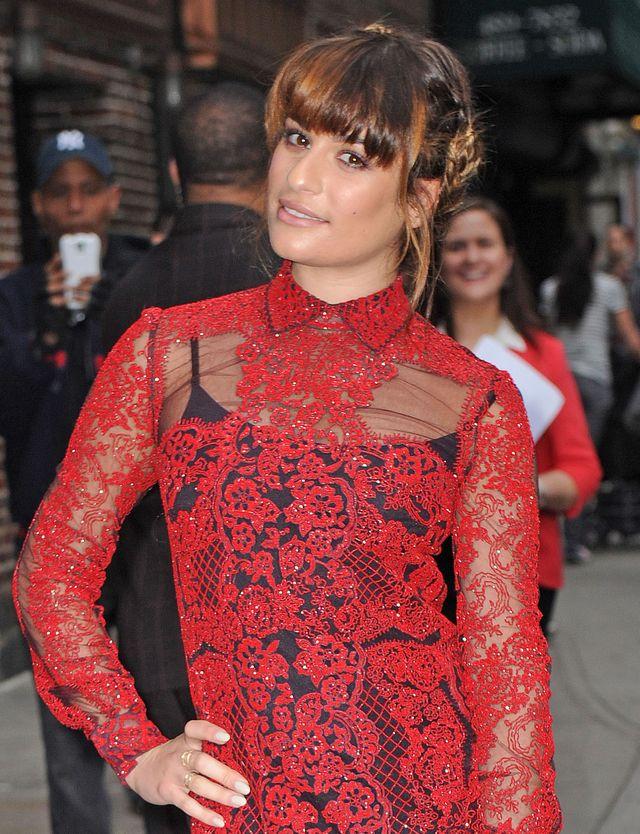 Lea Michele przyznała, że spotykała się z tym facetem