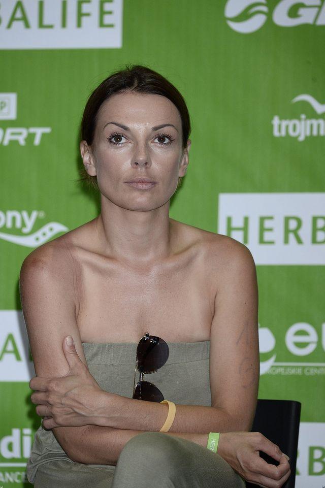 Spalona skóra i rozbite kolano Kasi Glinki (FOTO)