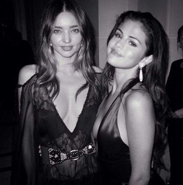Selena Gomez i Miranda Kerr na wsp�lnej imprezie! (FOTO)