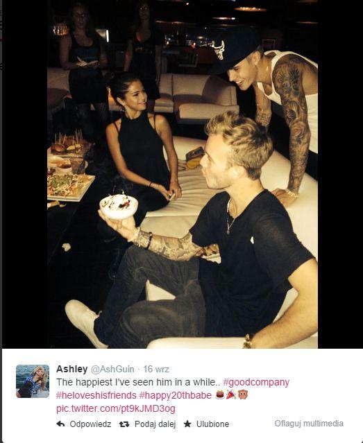 Justina i Selenę Gomez poniosło na imprezie (FOTO)