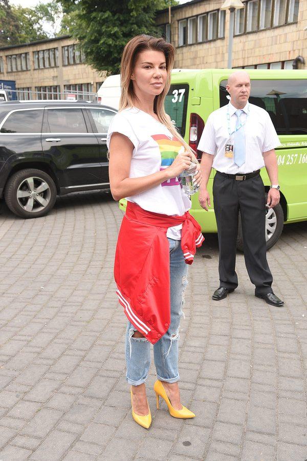 Edyta Górniak na próbie w Opolu (FOTO)