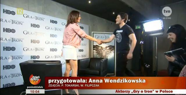 Aktorzy Gry o tron w Polsce!