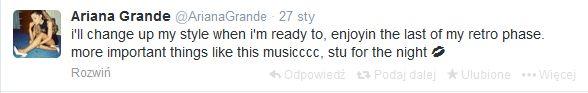 Ariana Grande zamyka usta hejterom