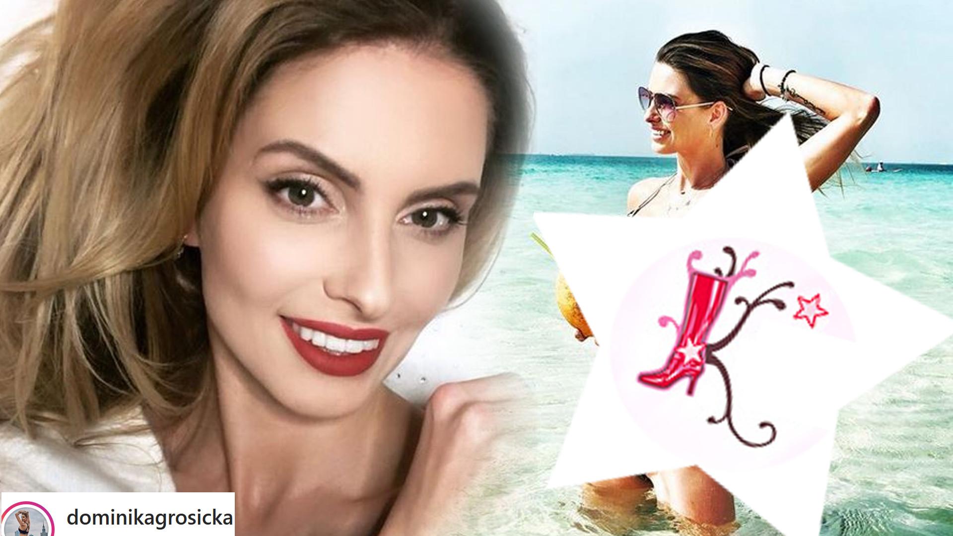 Dominika Grosicka w BIKINI na fotkach z wakacji: Przesadziłaś!