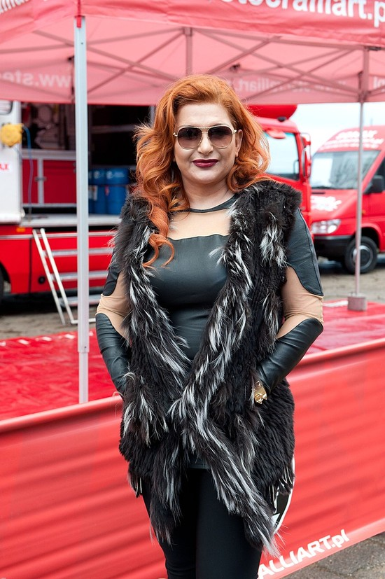 Marta Grycan dopinguje męża