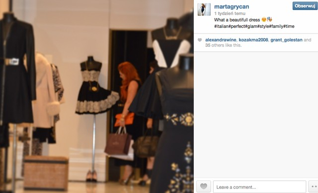 Marta Grycan na pokazuje swoje bogate �ycie (FOTO)