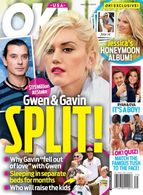 Gwen Stefani i Gavin Rossdale są w trakcie rozwodu?