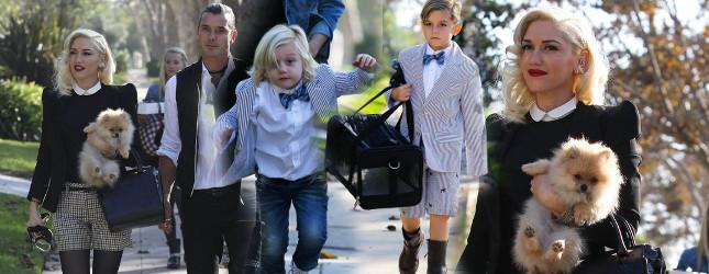 Dzień Dziękczynienia z Gwen Stefani (FOTO)