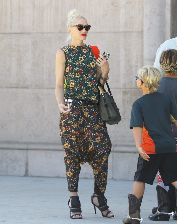 Gwen Stefani wygląda, jakby kamień spadł jej z serca (FOTO)