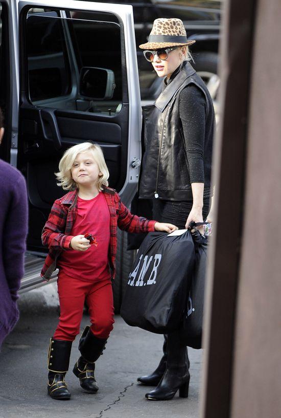 Ciężarna Gwen Stefani musi być silną kobietą (FOTO)