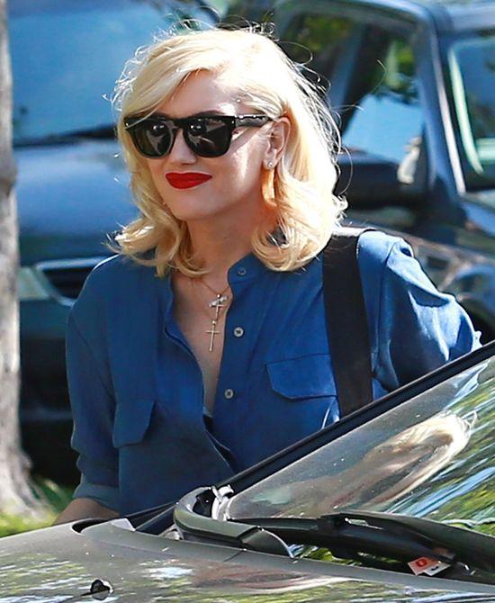 Gwen Stefani pierwszy raz po porodzie (FOTO)