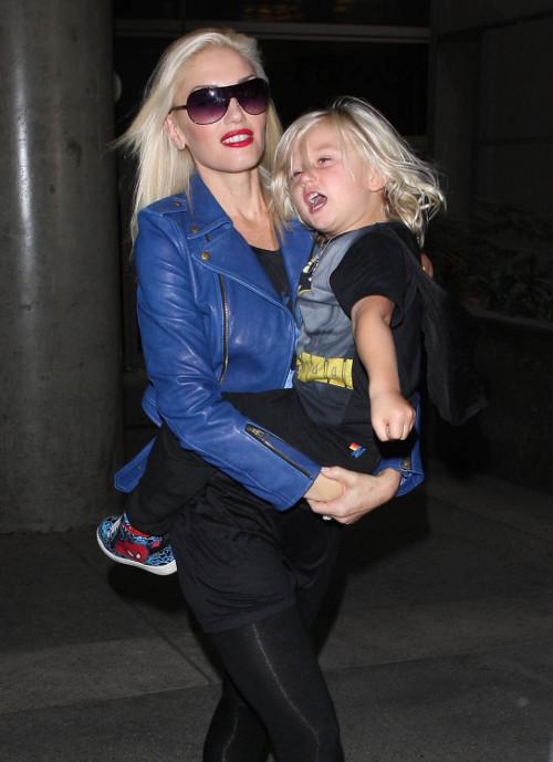Gwen Stefani sfotografowana z małym superbohaterem (FOTO)