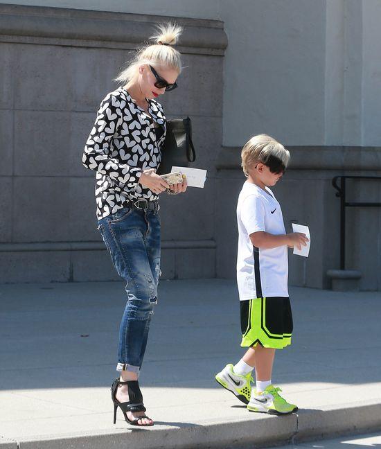 Gwen Stefani przefarbowała synom włosy (FOTO)