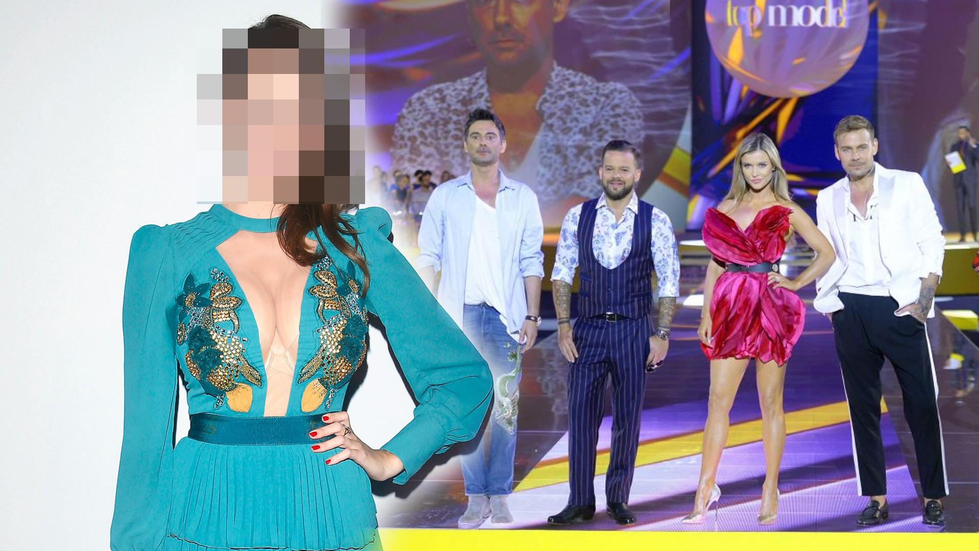 Ale wpadka! Dwie gwiazdy tej samej sukience i SPOCONA pacha na ramówce TVN