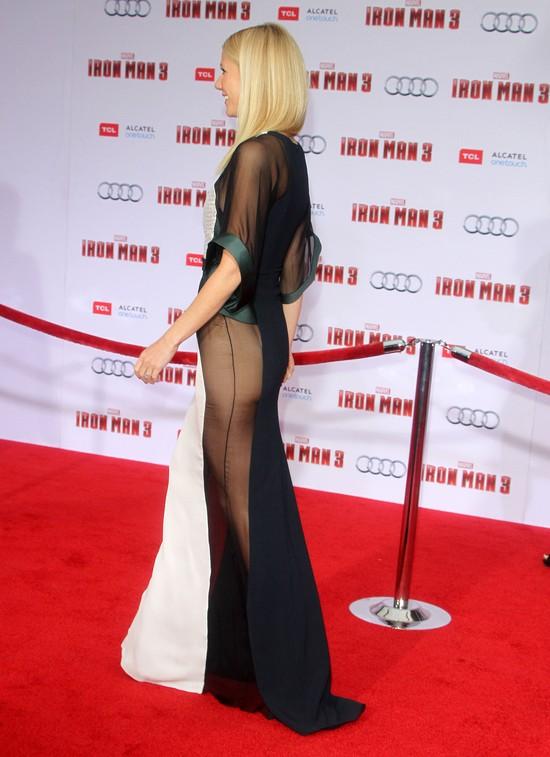Gwyneth Paltrow - brak majtek pom�g�?