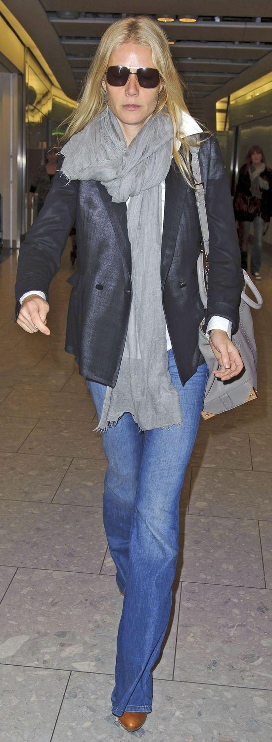Gwyneth Paltrow uzale�niona od kupowania jeans�w (FOTO)