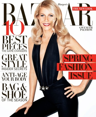 Gwyneth Paltrow w Harper's Bazaar (FOTO)